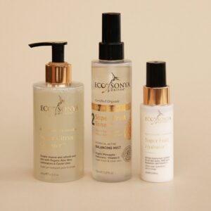 3 steps Skincare with Toner