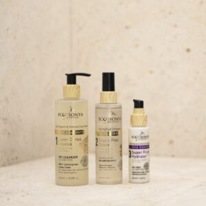 3 Steps Skincare with Vitamin Booster Mist